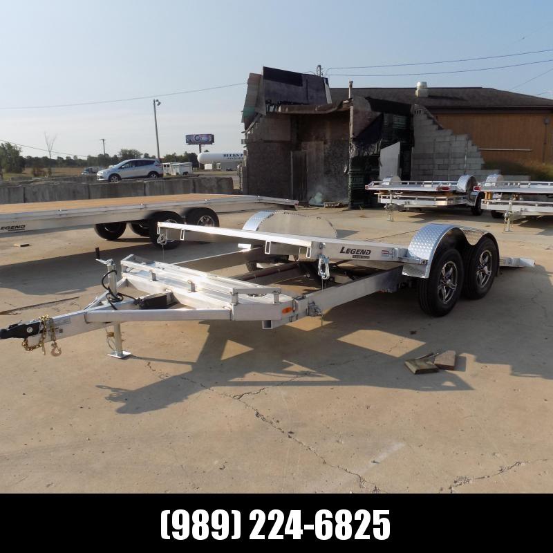 New Legend 7' x 18' Aluminum Tilt Deck Car Hauler - $0 Down & Payments From $133/mo. W.A.C.