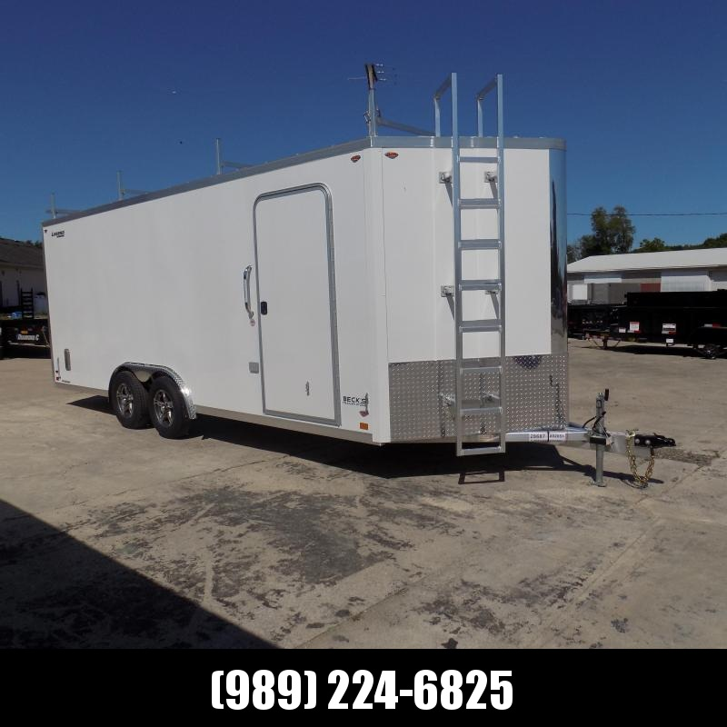 New Legend FTV 8' x 23' Heavy Duty Aluminum Contractor Cargo Trailer - $0 Down Financing Available