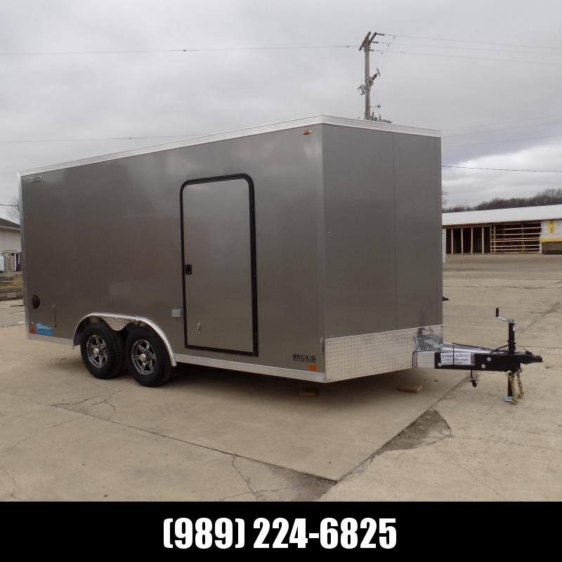 New Legend Thunder 8.5' X 18' Aluminum Enclosed Cargo Trailer - $0 Down & Payments From $139/mo. W.A.C.