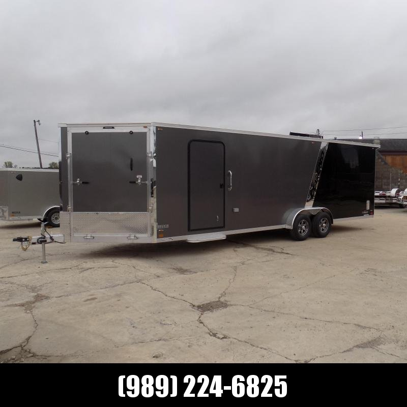 New Legend Explorer 7.5' x 31' Snowmobile Trailer - New 7.5' Wide Model Has NO Interior Wheel Wells! Flexible Financing Options Available