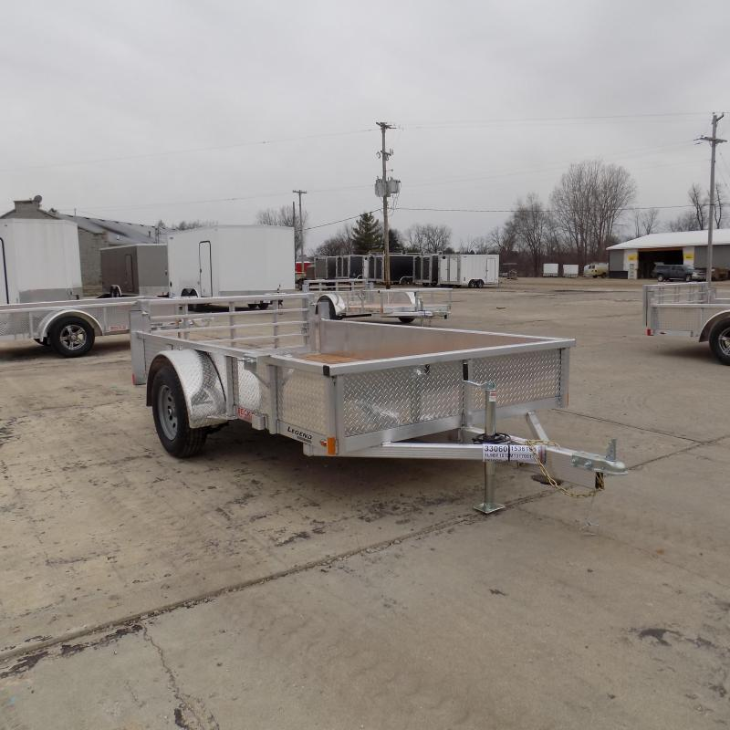 New Legend Open Deluxe 6' x 10' Aluminum Utility - $0 Down & Payments From $69/mo. W.A.C.