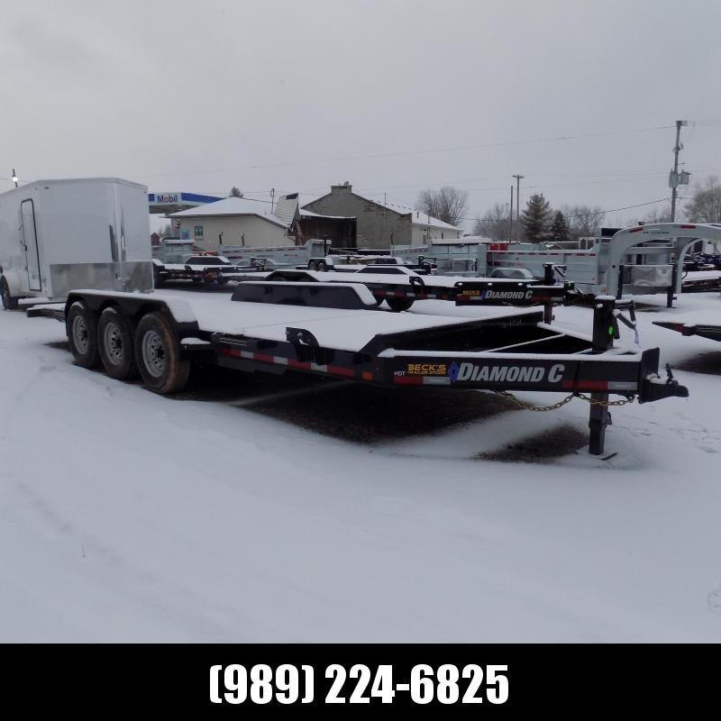 "New Diamond C HDT 82"" x 22' Tilt Deck Equipment Trailer - 24K Weight Rating - $0 Down & Payments From $143/mo. W.A.C."