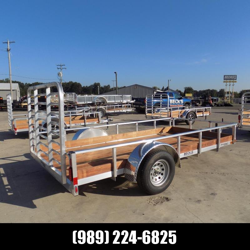 New Legend 6' x 12' Aluminum Utility Trailer For Sale - $0 Down & Payments From $73/mo. W.A.C.