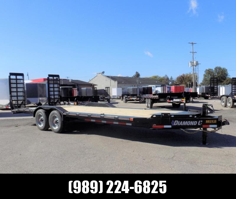 "New Diamond C Trailers 102"" x 22' Heavy Duty Equipment Trailer With Drive-Over Fenders - 10K Axles - $0 Down & Payments from $135/mo. W.A.C."