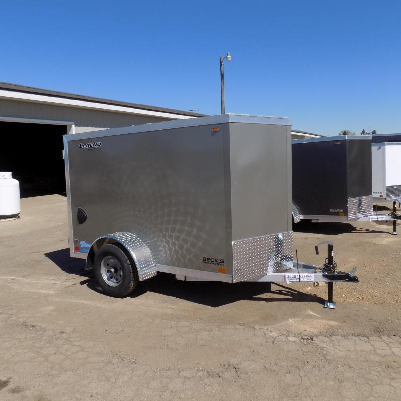 New Legend Thunder 5' x 9' Aluminum Enclosed Cargo Trailer for Sale- $0 Down Payments From $91/Mo W.A.C.