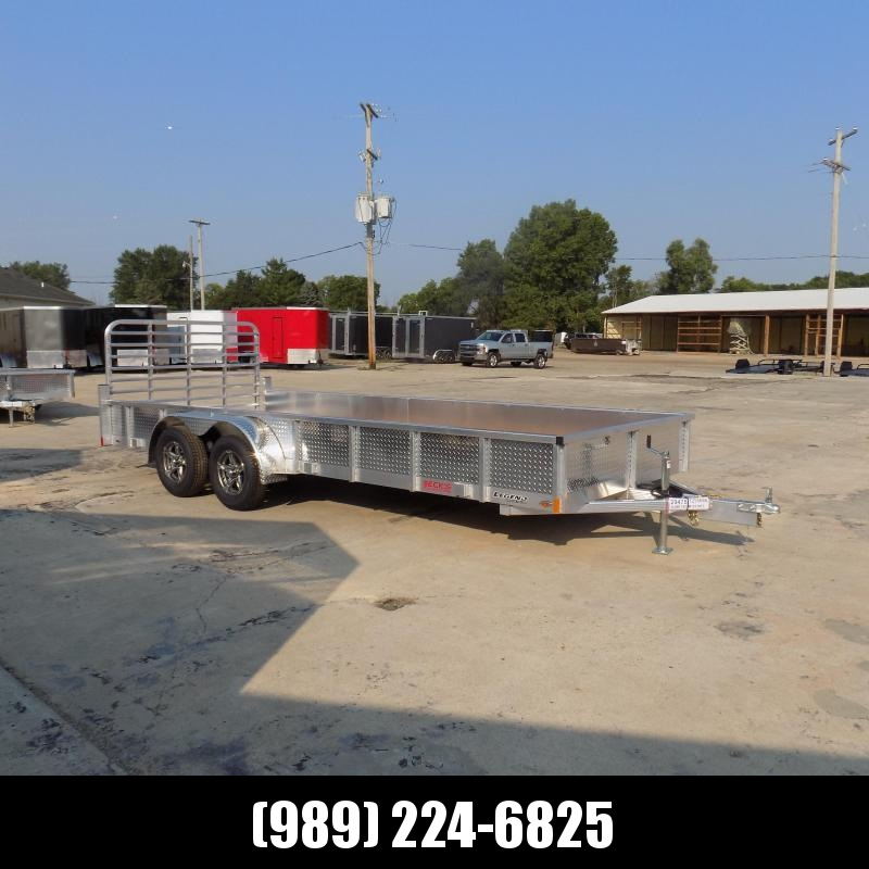 New Legend Open Deluxe 7' x 18' Aluminum Utility Trailer - $0 Down & Payments From $109/mo. W.A.C.