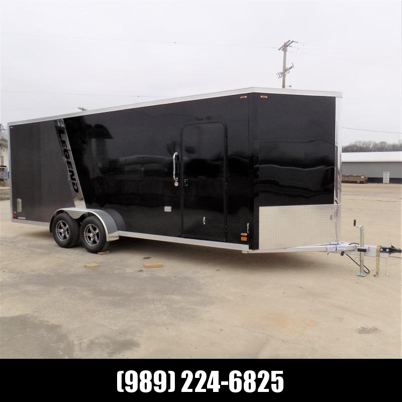New Legend FTV 7' x 23' Aluminum Enclosed Cargo Trailer - Best Built Cargo Trailer - $0 Down & Payments From $123/mo. W.A.C.