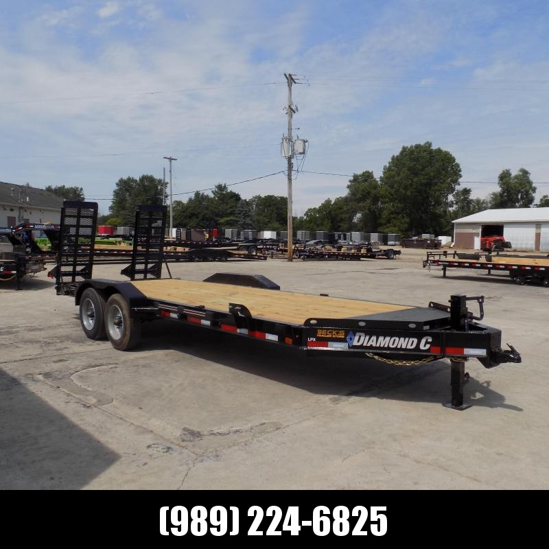 "New Diamond C Trailers 82"" x 20' Heavy Duty Equipment Trailer - 10K Axles - $0 Down & Payments from $135/mo. W.A.C."