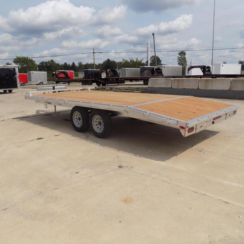 New Legend 8.5' x 20' All Aluminum Deckover Equipment Trailer - $0 Down & Payments From $113/mo. W.A.C.