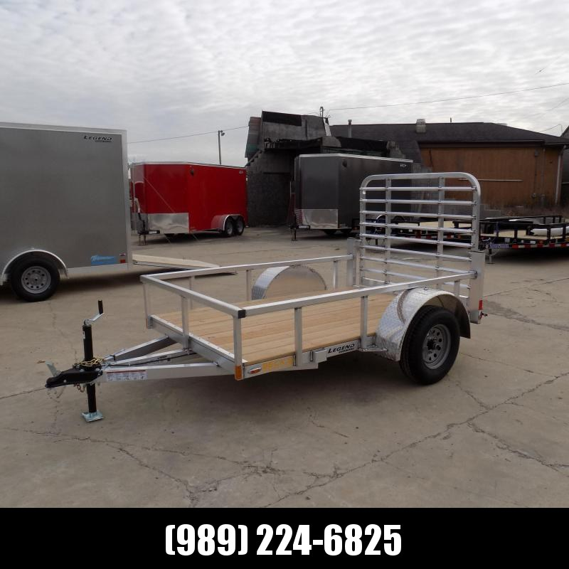 New Legend Open Deluxe 5' x 8' Aluminum Utility - $0 Down Financing Available