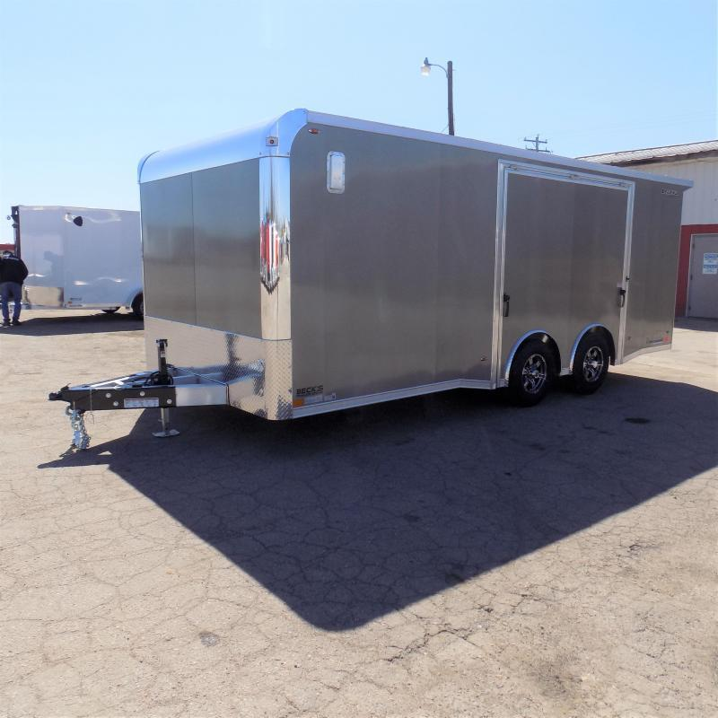 New Legend Trailmaster 8.5' x 20' Aluminum Race Series Trailer w/ Escape Door & Removable Fender
