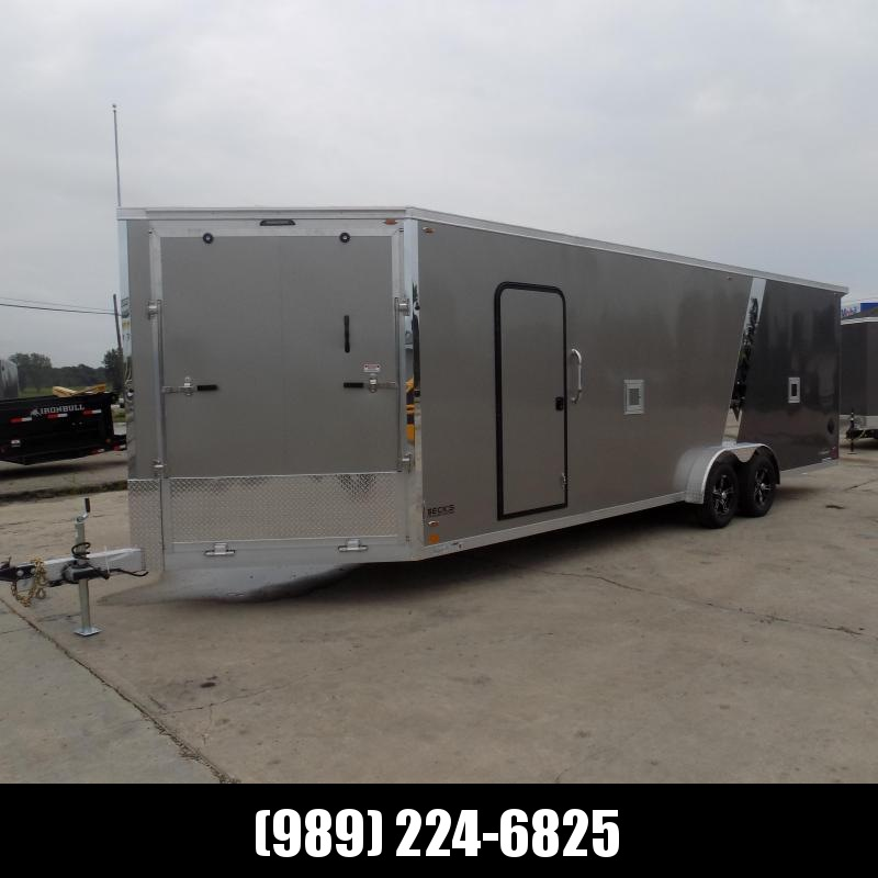 New Legend Explorer 7.5' Wide Snowmobile / All Sport Trailers - NO Interior Wheel Wells - $0 Down w/Financing Options Available