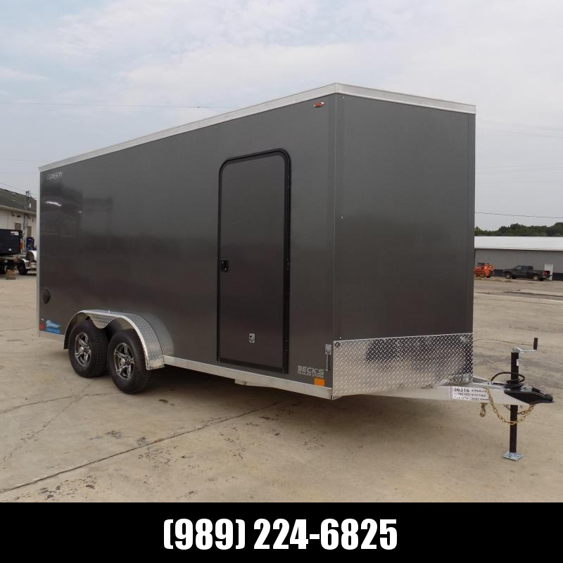 New Legend Thunder 7.5' x 18' Aluminum Enclosed Cargo Trailer for Sale- $0 Down With Financing Options Available