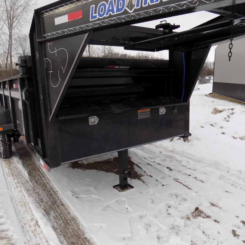 """New Load Trail 7' x 14' Gooseneck Dump Trailer With 36"""" Sides - $0 Down & Payments from $149/mo. W.A.C."""