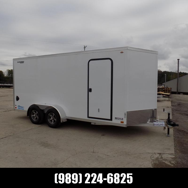 New Legend Thunder 7' x 18' Aluminum Enclosed Cargo Trailer for Sale- $0 Down Payments From $127/Mo W.A.C.
