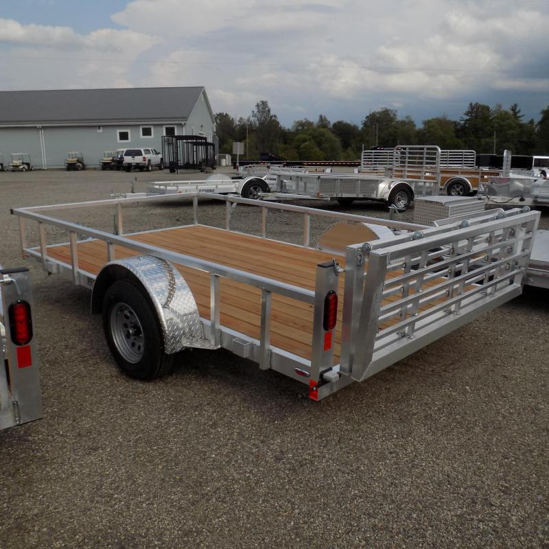 New Legend Open Deluxe 7' x 12' Aluminum Utility - $0 Down & Payments From $93/mo. W.A.C.