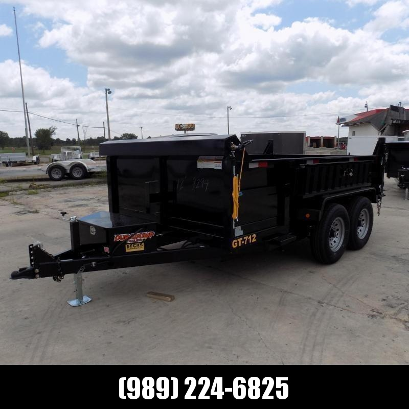 New DuraDump 7' x 12' Dump Trailer For Sale - Payment From $115/mo. With $0 Down W.A.C. - BACK IN-STOCK SOON!