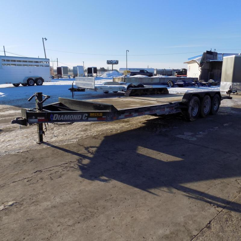 "New Diamond C HDT 82"" x 24' Tilt Deck Equipment Trailer - 24K Weight Rating - $0 Down & Payments From $143/mo. W.A.C."