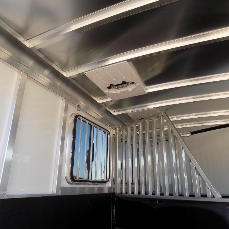 New Sundowner Aluminum Super Sport Bumper Pull 3 Horse Slant Load - $0 Down Financing Available