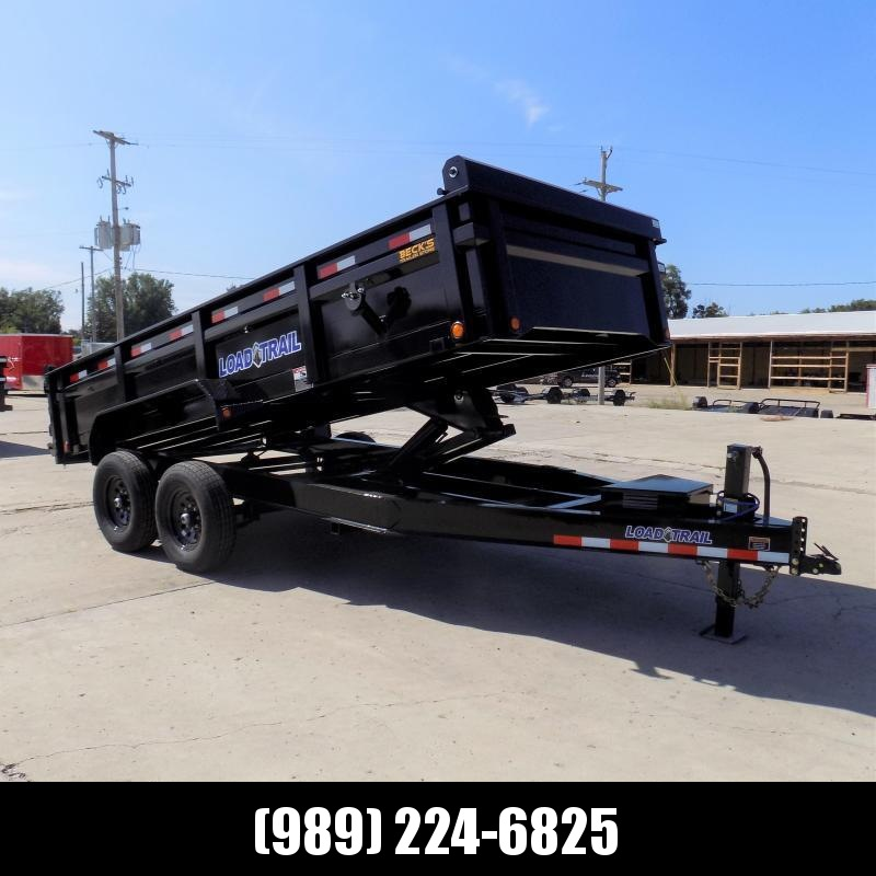 """New Load Trail 83"""" x 16' Dump Trailer for Sale - $0 Down & Payments from $135/mo. W.A.C."""