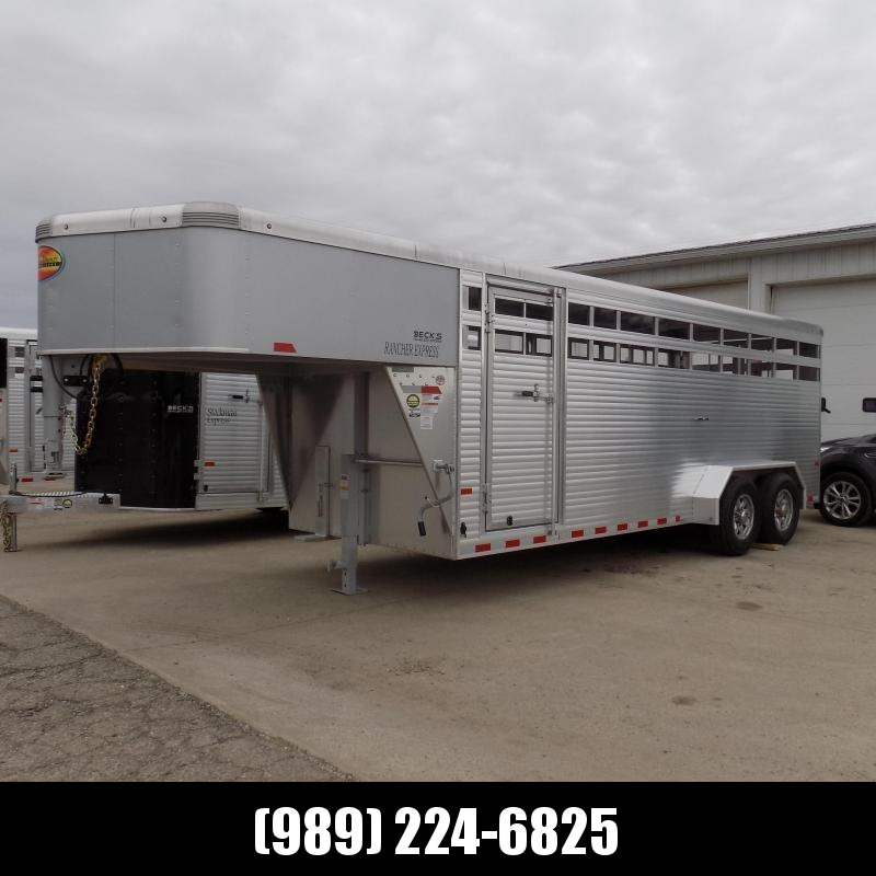 New Sundowner Trailers 20' Aluminum Stock Trailer - On Order - Call For Arrival Date