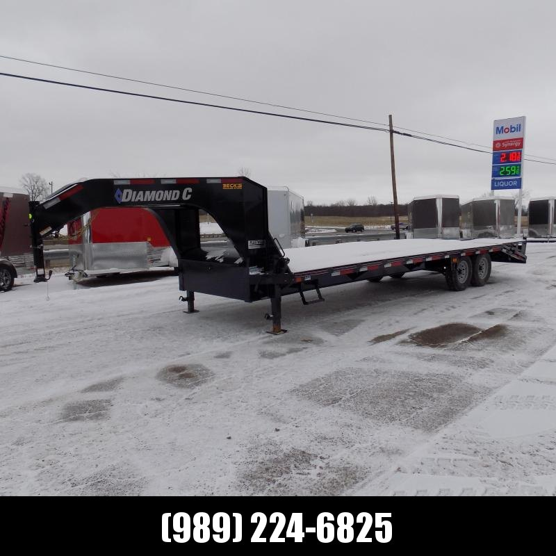 """New Diamond C Trailers 102"""" x 25' Gooseneck Equipment Trailer - $0 Down Financing Available - JUST ARRIVED...PICTURES COMING SOON"""