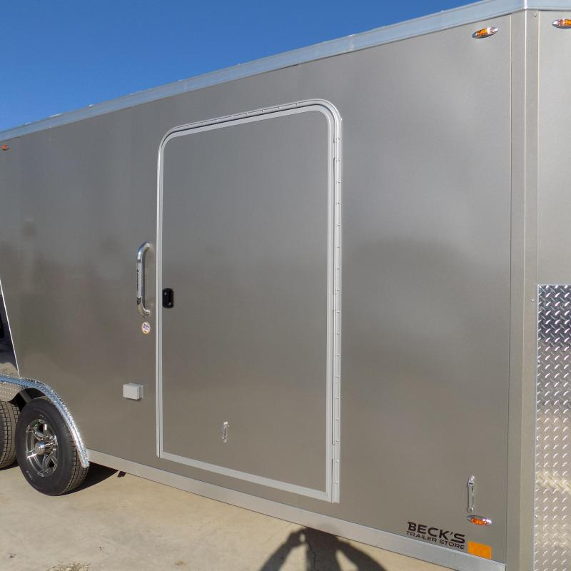 New Legend Trailmaster 8.5' x 28' Aluminum Enclosed Trailer - Perfect For UTVs-Snowmobile-Motorcycles & More - $0 Down Financing Available