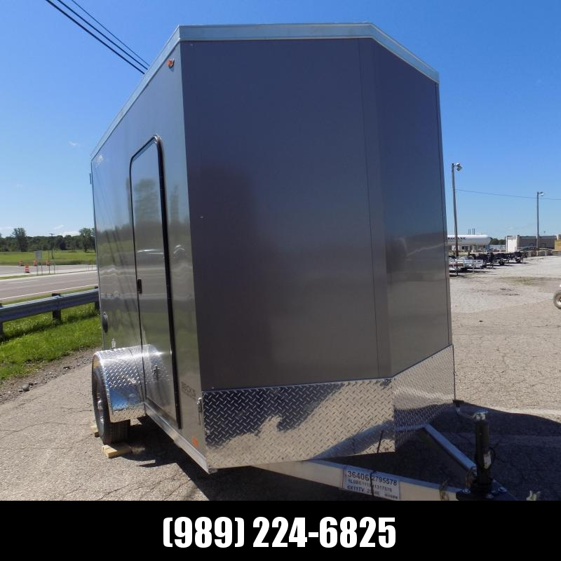 New Legend Thunder 6' x 11' Aluminum Enclosed Cargo Trailer for Sale- $0 Down Payments From $111/Mo W.A.C.