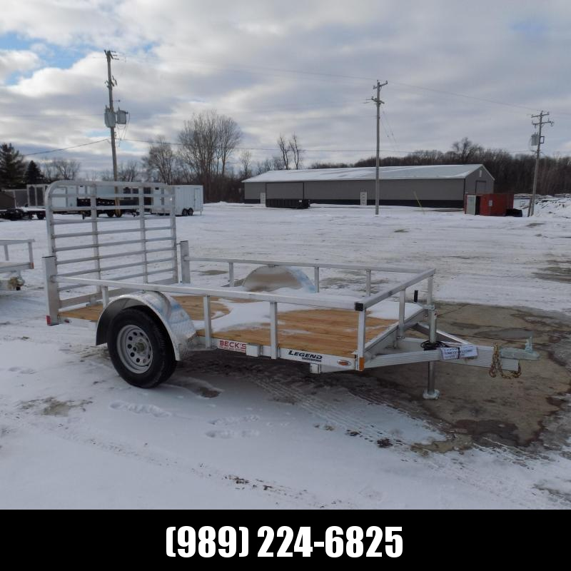 New Legend Open Deluxe 6' x 10' Aluminum Utility - $0 Down & Payments From $63/mo. W.A.C.