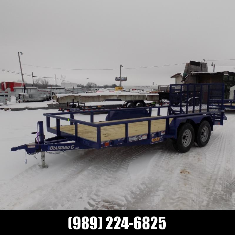New Diamond C Trailers 7' x 20' Heavy Duty Utility Trailers - 5200# Axles - $0 Down & Payments From $119/mo. W.A.C.