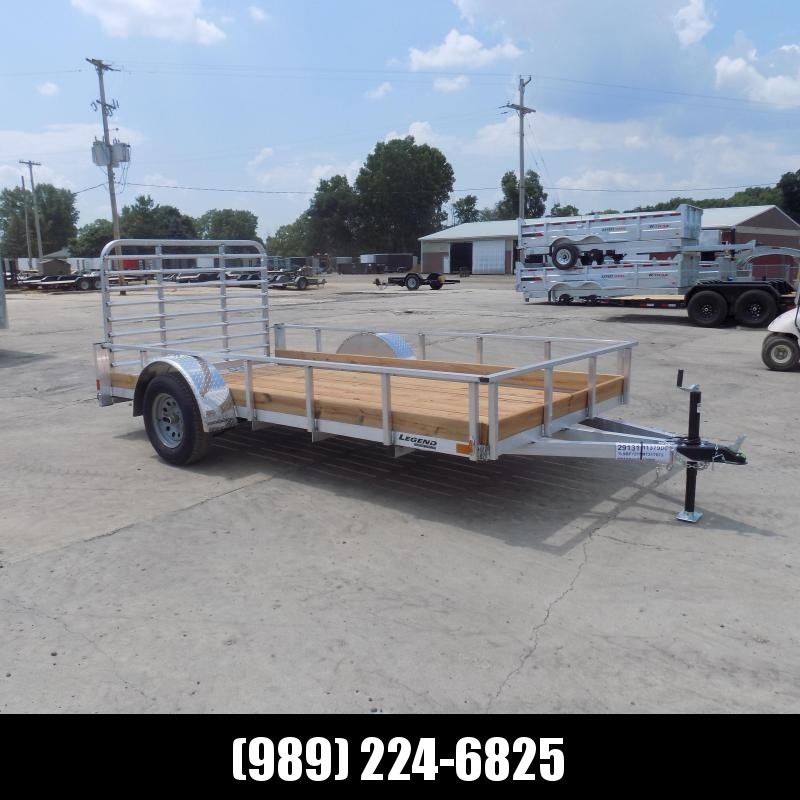 New Legend 6' x 12' Aluminum Utility Trailer For Sale - Triple Tube Tongue
