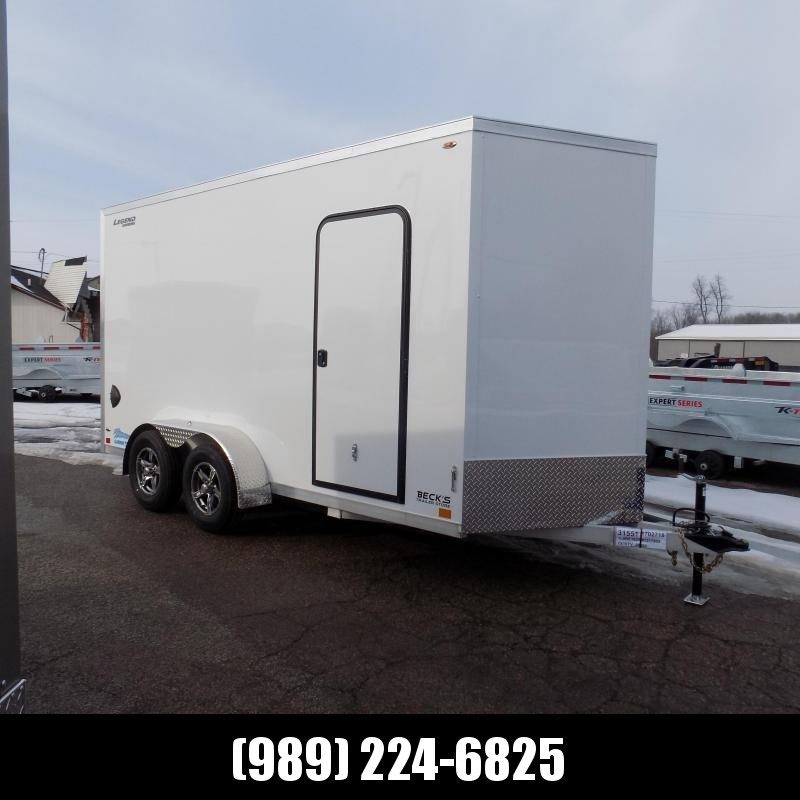 New Legend Thunder 7' X 16' Aluminum Enclosed Cargo Trailer For Sale - $0 Down Payments From $119/Mo W.A.C