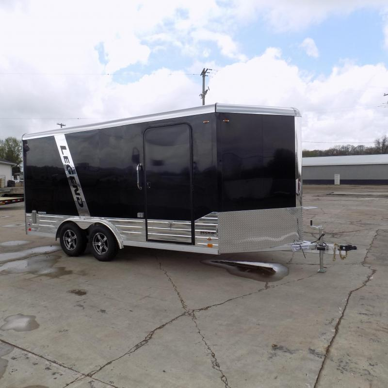 New Legend Deluxe V Nose 8' X 19' All Aluminum Cargo Trailer - $0 Down & Payments from $159/mo. W.A.C.