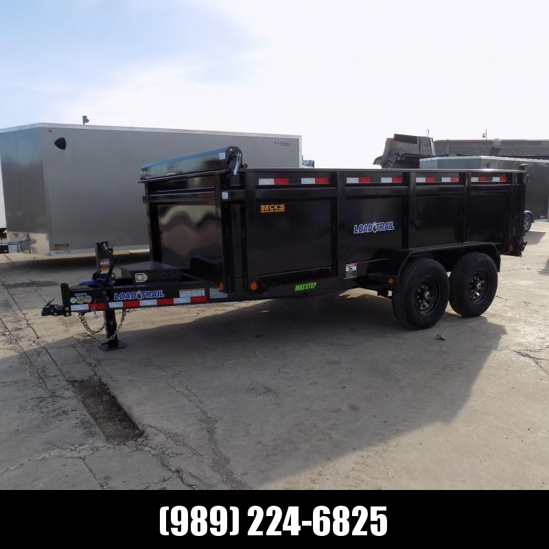 """New Load Trail 83"""" x 14' Dump Trailer With 36"""" Sides - $0 Down & Payments from $135/mo. W.A.C."""