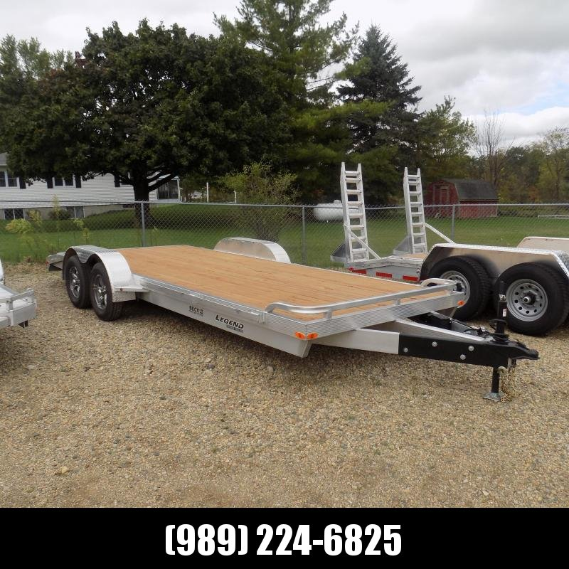 New Legend 7' x 20' Aluminum Car Hauler - $0 Down & Payments From $137/mo. W.A.C.