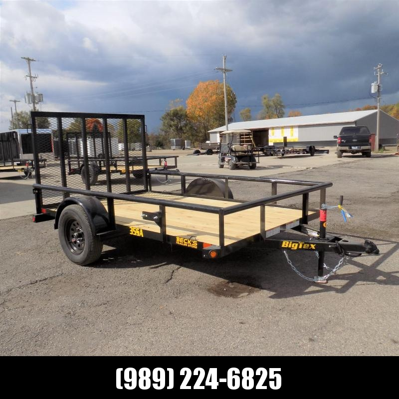 New Big Tex 6' x 10 Utility Trailer For Sale - $0 Down & Payments From $53/mo. W.A.C.