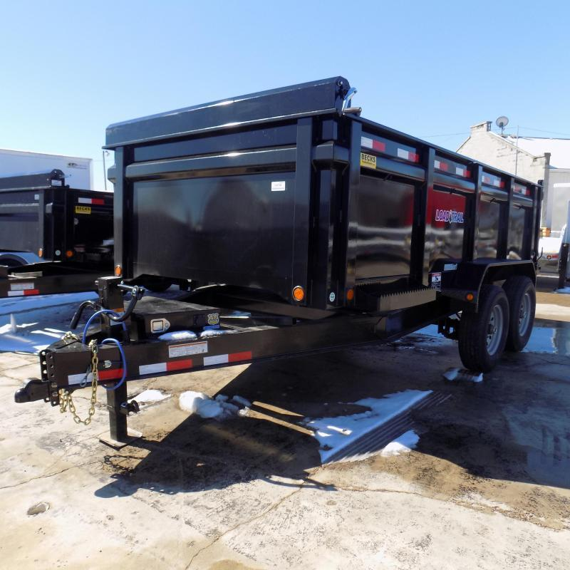 "New Load Trail 83"" x 14' Dump Trailer w/ 36"" Sides"