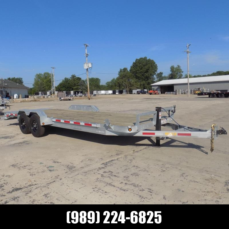 New Galvanized 7' x 24' Equipment Trailer - Corrosion Resistant  - $0 Down & Payments From $149/mo. W.A.C.