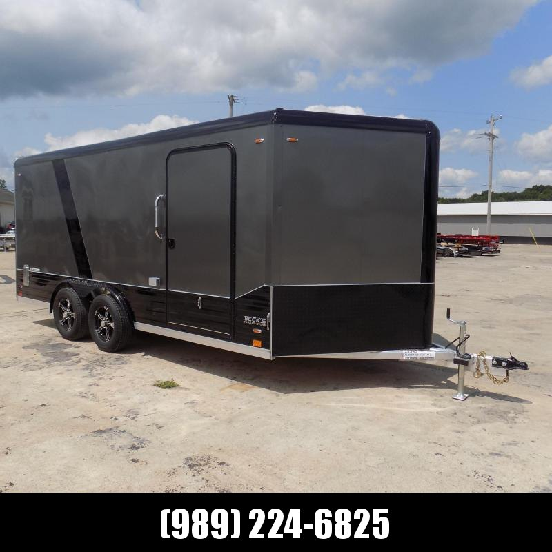 New Legend Deluxe V Nose 8' X 19' All Aluminum Cargo Trailer - $0 Down & Financing Available