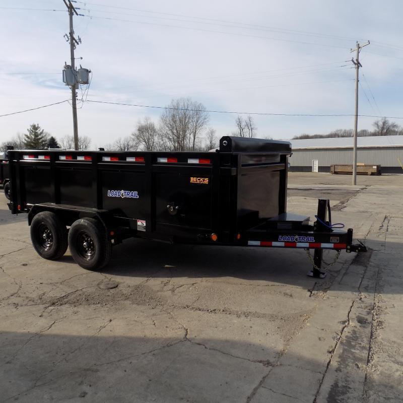 "New Load Trail 83"" x 14' Dump Trailer With 36"" Sides - $0 Down & Payments from $135/mo. W.A.C."