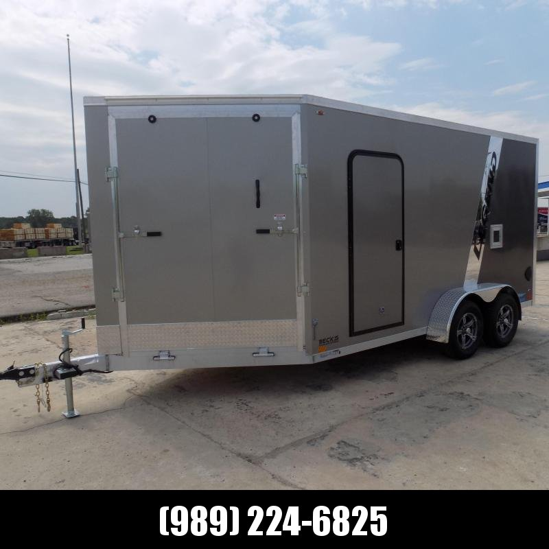 New Legend Thunder 7' x 19' Snowmobile Trailer - $0 Down & Payments From $139/mo. W.A.C