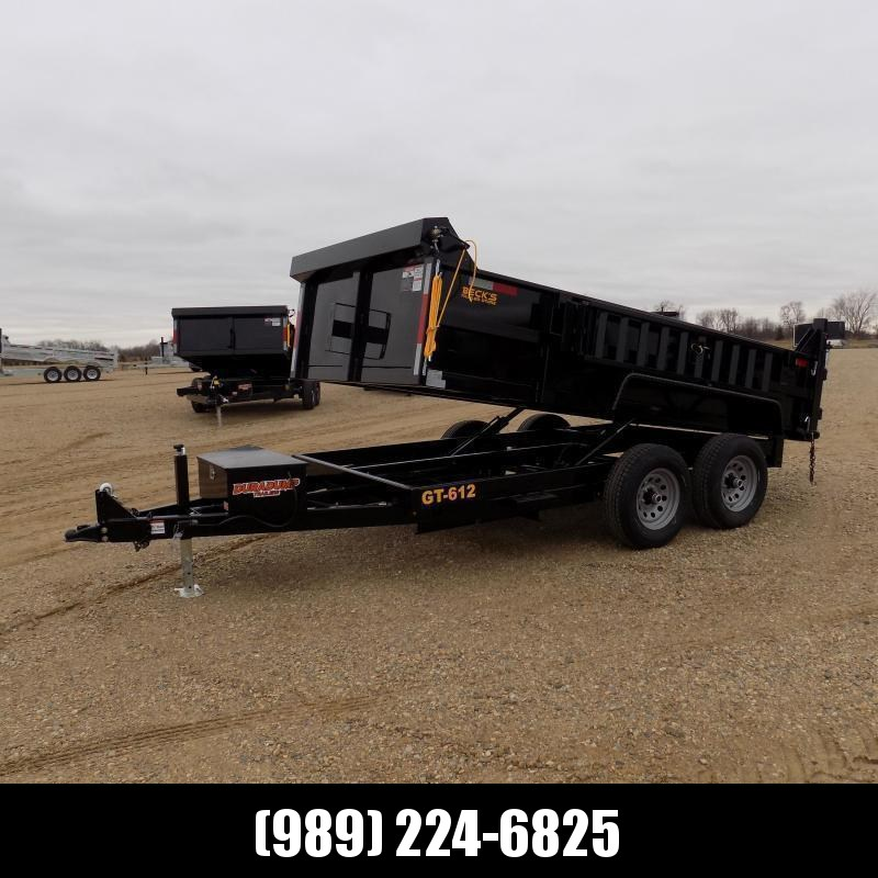New DuraDump 6' x 12' Dump Trailer For Sale - $0 Down & Payments From $117/mo. W.A.C.