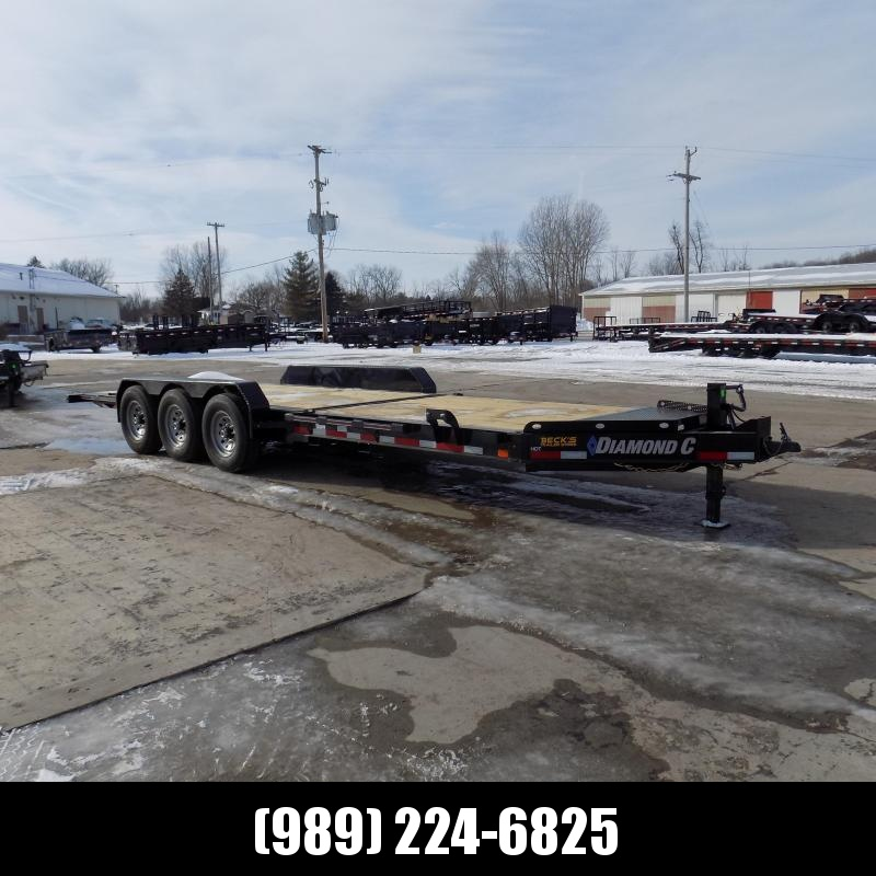 """New Diamond C Trailers 82"""" x 24' Heavy-Duty Tilt Deck Equipment Trailer - Nearly 20K Payload Capacity - $0 Down & Payments from $133/mo. W.A.C."""