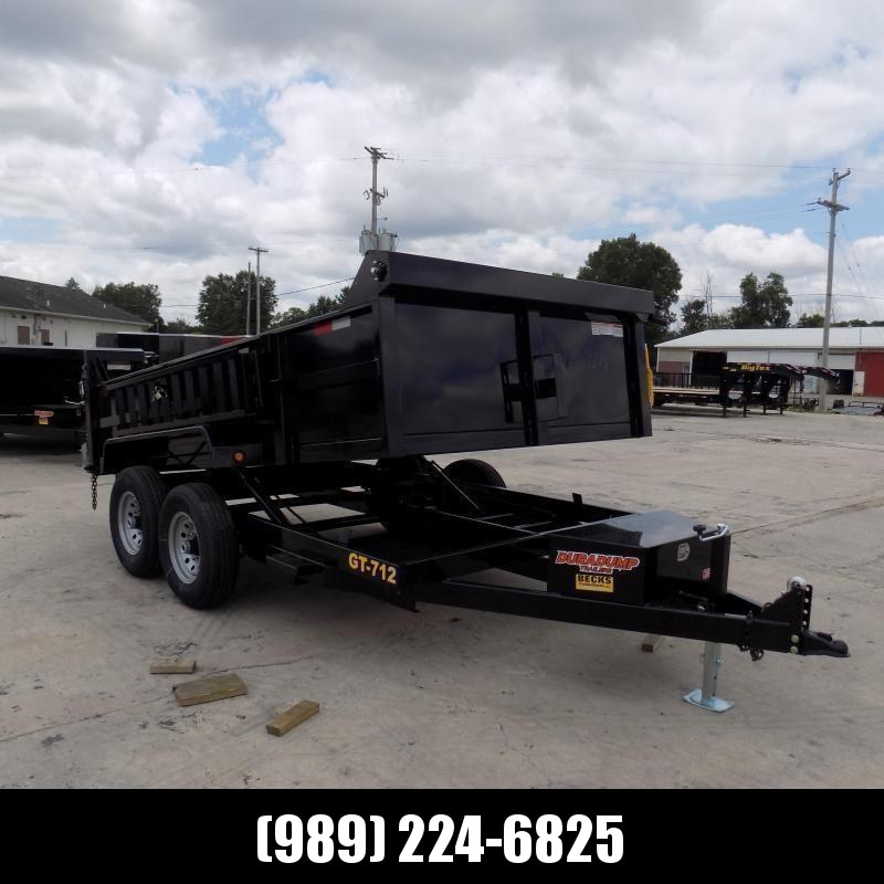 New DuraDump 7' x 14' Dump Trailer For Sale - Payment From $129/mo. With $0 Down W.A.C.