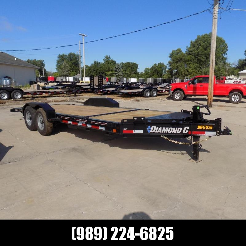 "New Diamond C Trailers 82"" x 20' Tilt Deck Equipment Trailer - $0 Down & Payments from $125/mo. W.A.C."