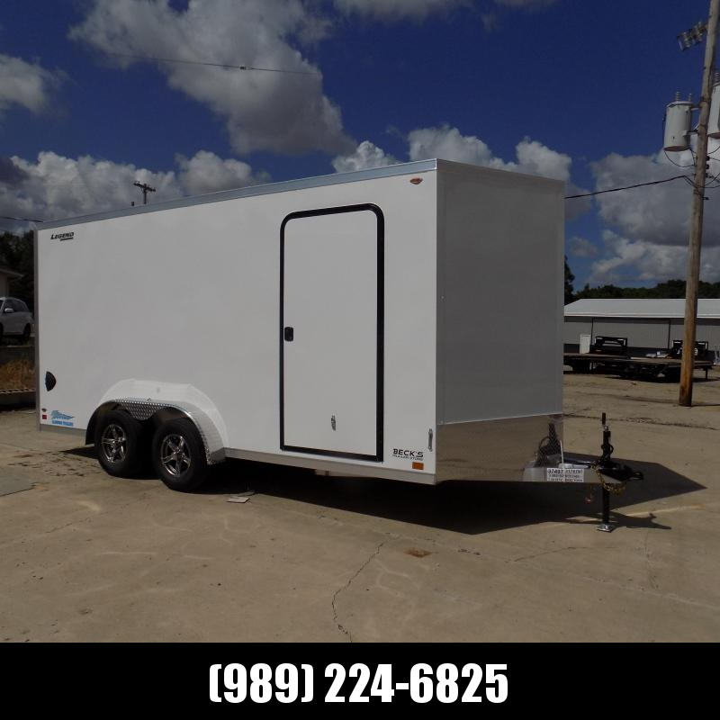 New Legend Thunder 7.5' x 18' Aluminum Enclosed Cargo Trailer for Sale- $0 Down Payments From $145/Mo W.A.C.