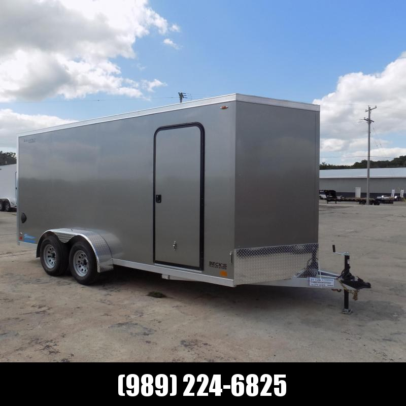 New Legend Thunder 7' x 18' Aluminum Enclosed Cargo Trailer for Sale- $0 Down Payments From $119/Mo W.A.C.