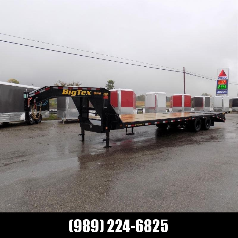 """New Big Tex 102"""" x 25' + 5' Gooseneck Trailer w/ 23900# Weight Rating - $0 Down Financing Available"""