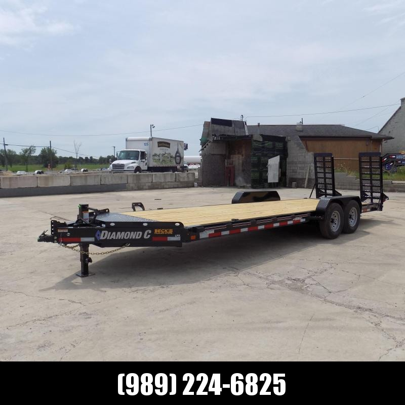 "New Diamond C Trailers 82"" x 24' Equipment Trailer For Sale - $0 Down & Payments from $123/mo. W.A.C."