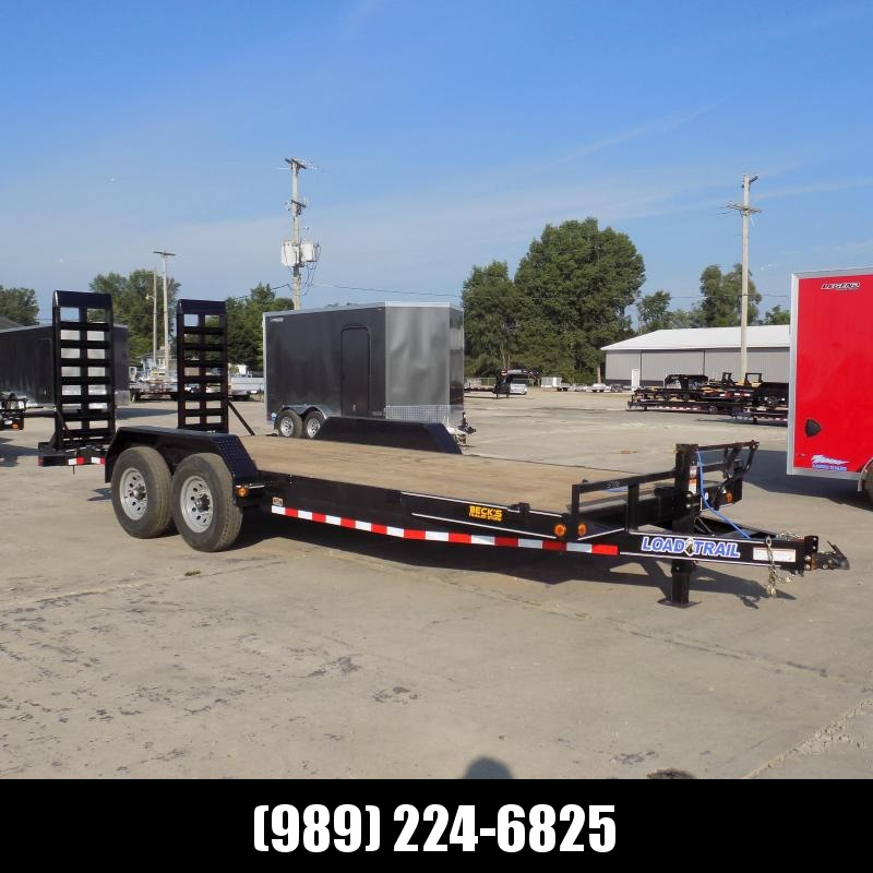 """New Load Trailer 83"""" x 20' Open Car Hauler/Equipment Trailer For Sale With 7K Axles- $0 Down & Payments from $121/mo. W.A.C."""